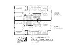 BRIAR CREEK - SECOND FLOOR