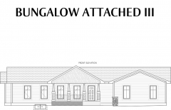 Bungalow Attached III Elevation