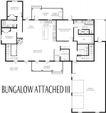 Bungalow Attached III Plan