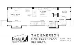 EMERSON - MAIN FLOOR