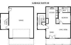 a garage loft plan layout