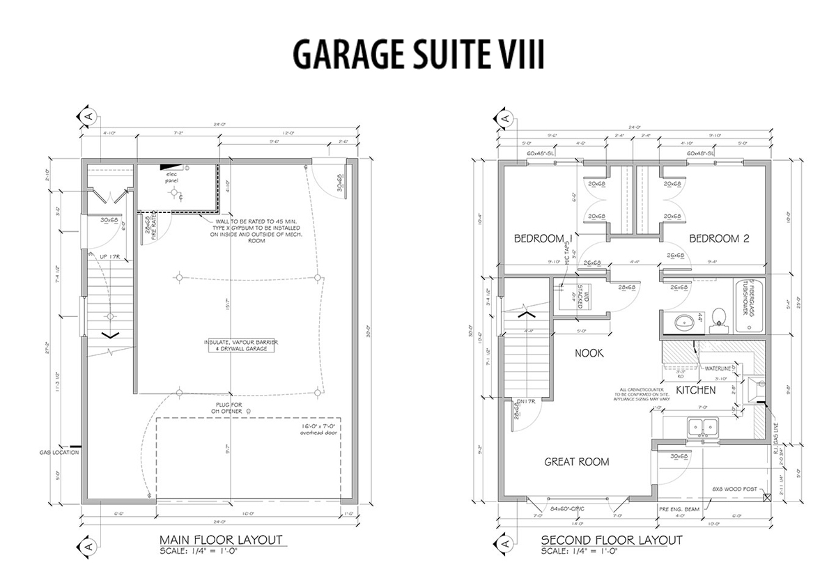 100 Garage With Inlaw Suite House Review Casitas