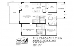PLEASANT VIEW - MAIN FLOOR