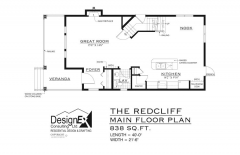 REDCLIFF - MAIN FLOOR