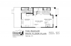 RADIUM - MAIN FLOOR