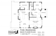 RAESIDE - MAIN FLOOR