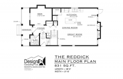 REDDICK - MAIN FLOOR