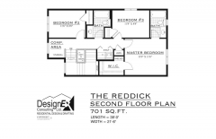 REDDICK - SECOND FLOOR