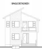 Single Detached I Elevation