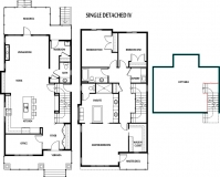 Single Detached Iv house plan layout
