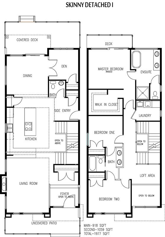 Edmonton Skinny Home Suites Builder On Narrow Lots