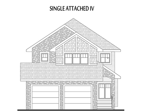 single attached home builder edmonton
