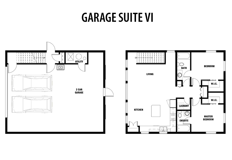 Edmonton Garage Suite Builder Garage Suites Apartment Plans