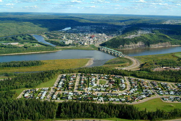 A pic of Fort McMurray from above